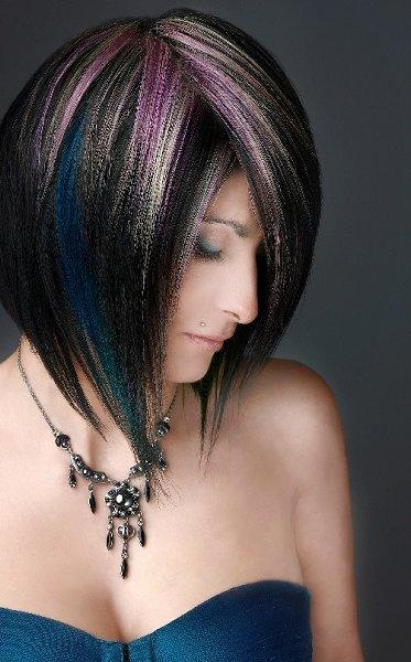 Как покрасить волосы самой короткие 999