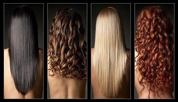 стрижка на длинных волосах