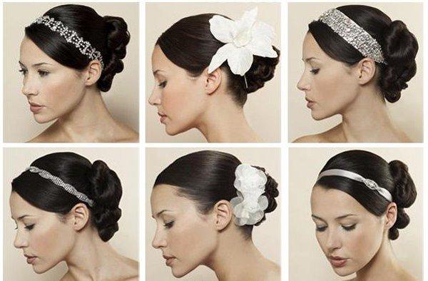 коса прическа, свадебные