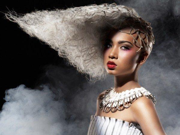 Технология стрижки лесенка на длинные волосы